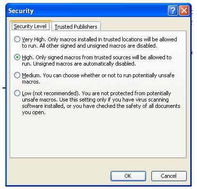 Macro Virus Protection | Technofriends