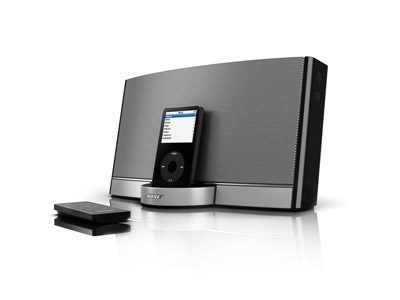 bose s ipod docking station a clear winner technofriends. Black Bedroom Furniture Sets. Home Design Ideas