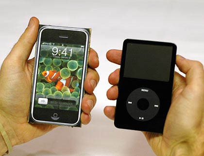 Iphone and iPod