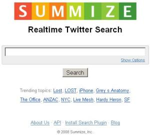Summize-Twitter-Search