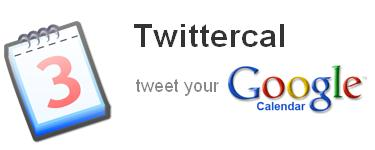 TwitterCal- Twitter and Google Calendar Integration