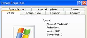 Identifying Windows version using my computer properties