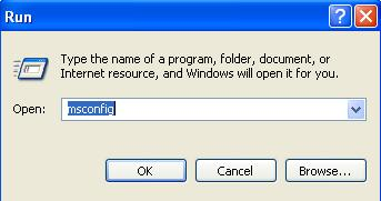 MSConfig is used to execute System Configuration Utility
