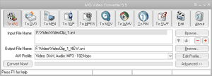 AVS Video Converter can convert videos to multiple formats