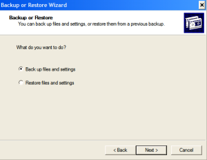 Automating Windows Backup-Step1