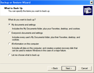 Automating Windows Backup - Step2