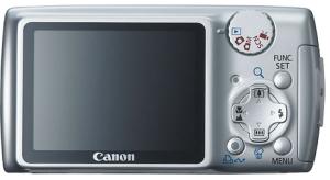 Backside of Canon Powershot A470