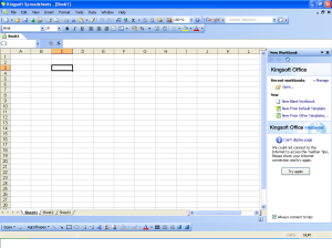 KingSoft Spreadsheet