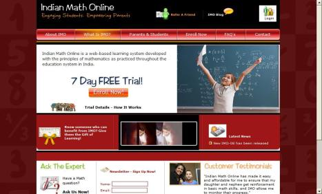 Indian Math Online